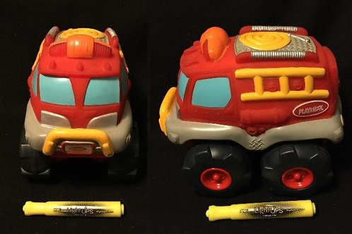 Playskool Tonka Cushy Cruisers - Firetruck
