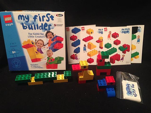 LEGO Explore My First Builder Preschool Game