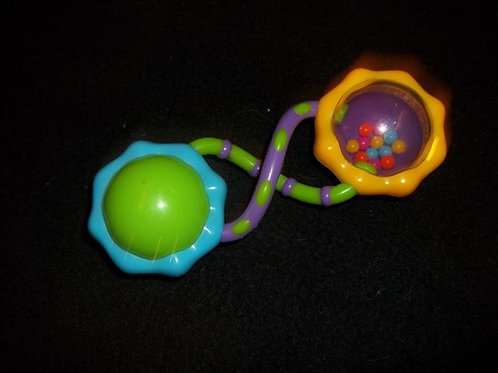 Bright Starts Rattle and Shake Barbell Rattle Y/B