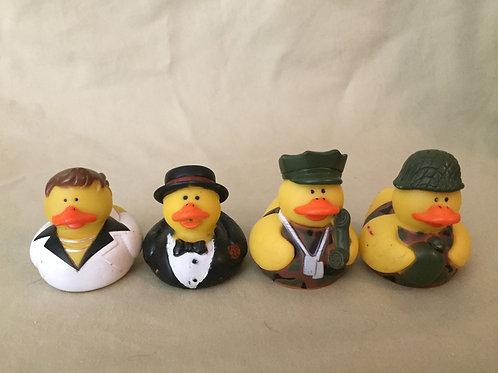 Mini Rubber Ducky Set #1