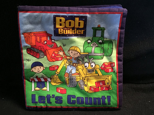 Bob The Builder Fabric Cloth book