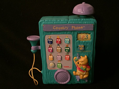 Tiger Electronics Winnie the Pooh Country Phone