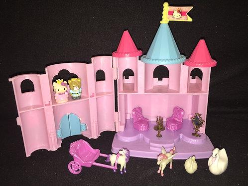 Blue Box Hello Kitty Carry Along Mini Castle