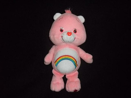 "Cheer Bear (2002)  8"" Plush"