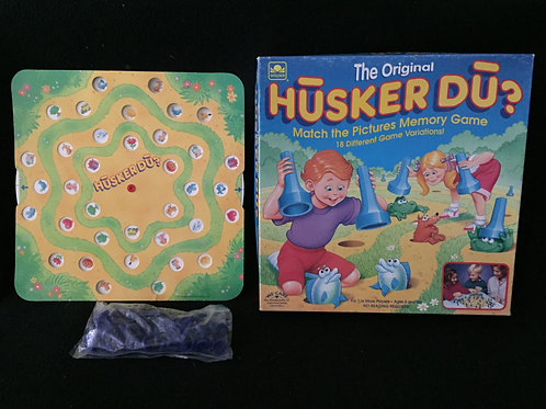 HUSKER DU The original matching game