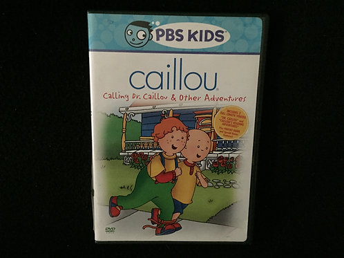 Caillou Calling Dr. Caillou & Other Adventures DVD