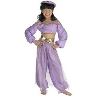 Jasmine Princess Deluxe Costume Fits 4-6