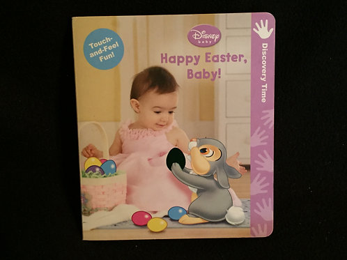 Disney Baby: Happy Easter Baby (A Touch-and-feel B