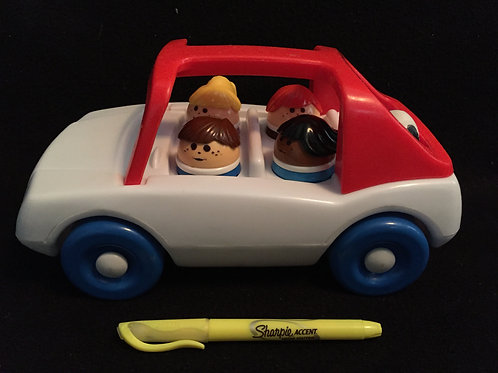 Little Tikes Toddle Tots Chunky People Family car