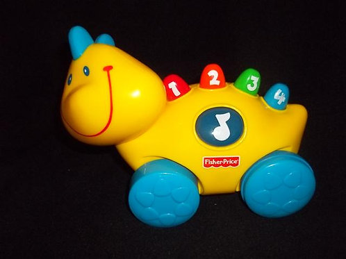 Fisher Price Smartronics Roll Along Pals: Lil Dino