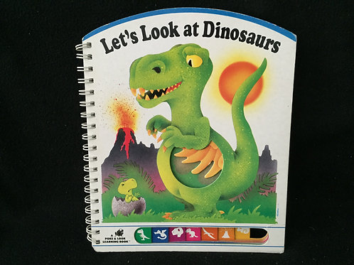 Let's look at dinosaurs (Poke and Look) Board book