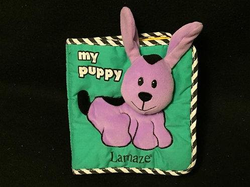 Lamaze My Puppy Cloth Book