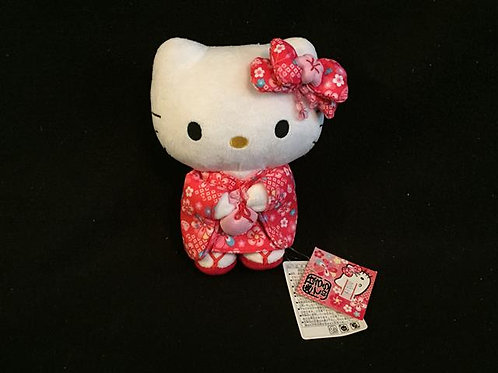 Hello Kitty Japan Cute Kimono Plush Toy Doll *NEW