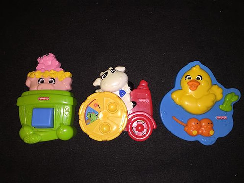 Fisher Price Baby magnets *Vintage 1995