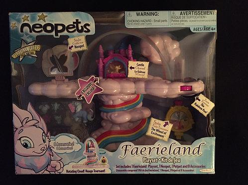 Neopets Faerieland Playset *NEW