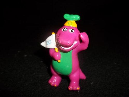 "Barney  2.5"" Figure or cake topper (1997)"
