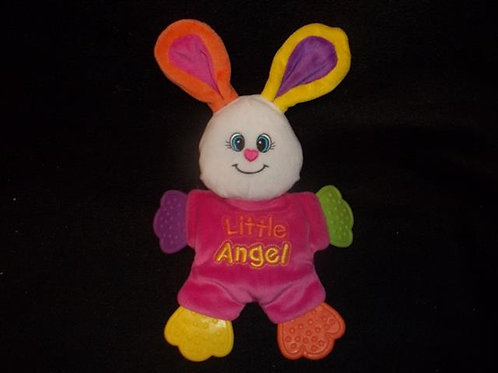 Little tikes Angel bunny baby teether Plush