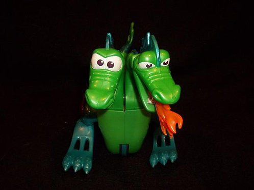 Fisher Price 2 headed dragon serpent