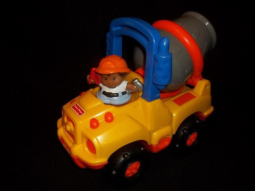 Fisher-Price Little People Cement Truck