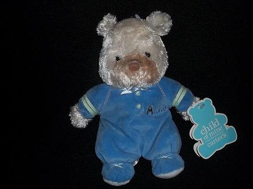 Carters Child of Mine Plush Allstar Bear Lovey Rat
