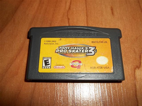 Tony Hawk's Pro Skater 3- GAMEBOY GAME