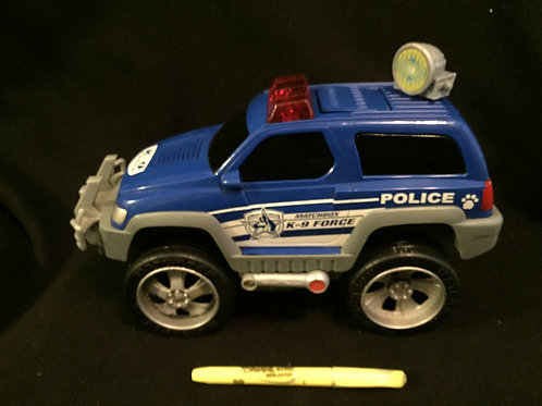 Matchbox Rescue Net K-9 Police Truck