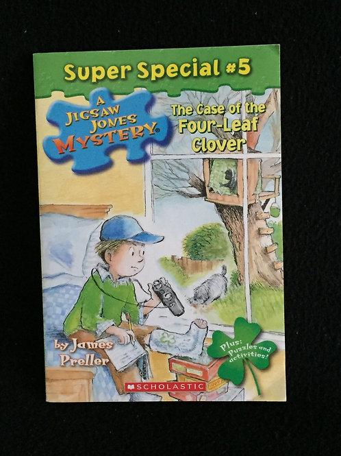 The Case of the Four-Leaf Clover (Jigsaw Jones Mystery #5)