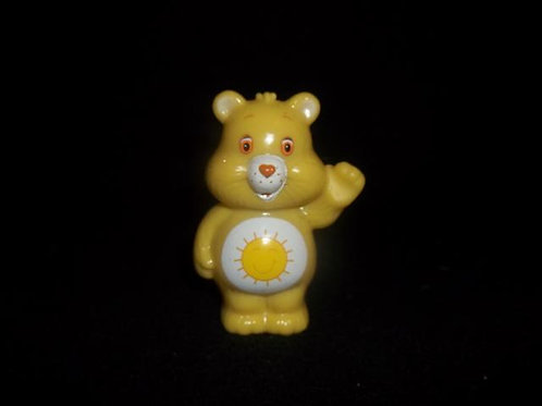 Yellow Care Bear PVC Cake PENCIL Topper Figurine