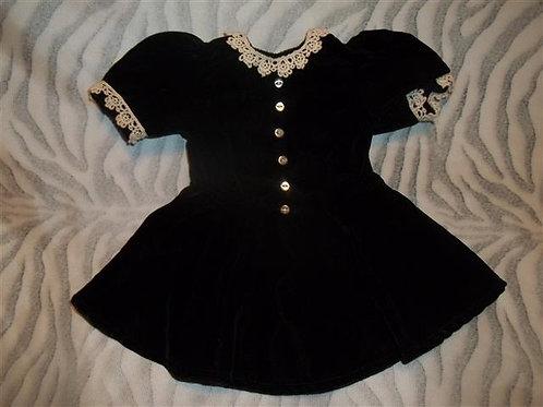 American Girl Molly's Velvet Dress