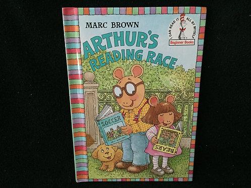 Arthur's Reading Race Beginner Books Hardcover
