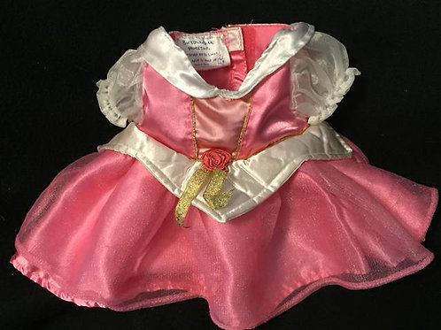 Build a Bear Fancy Pink Princess Dress