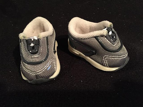 Grey Sneakers-Perfect for school or sports,