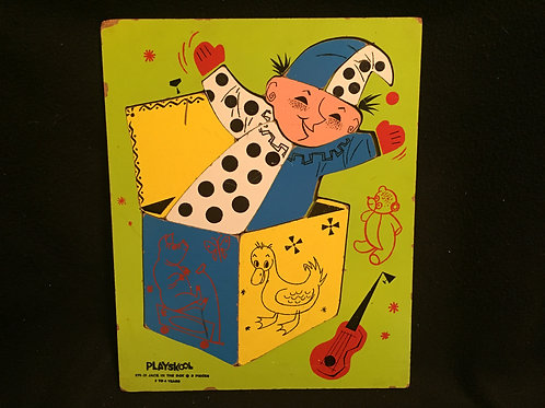 Playskool Puzzle Jack in the Box 275-31