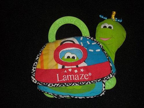 Lamaze Turtle Take along book