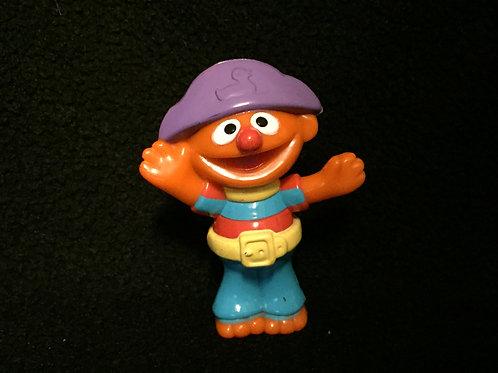 """Sesame Street ernie plastic figure 3"""""""