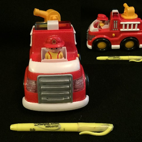 Lights and Sounds Firetruck-Red