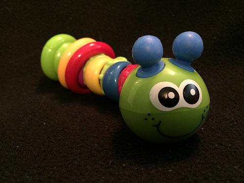 Infantino Twist & Play Caterpillar Rattle