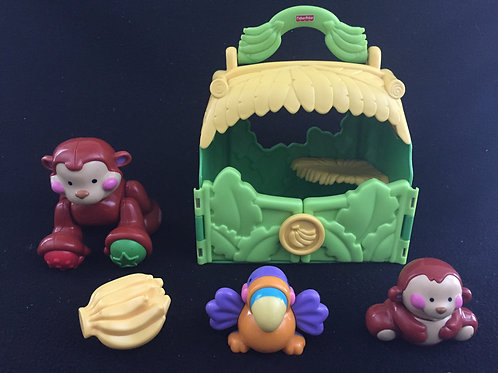 Fisher-Price Amazing Animals Take Along Monkey