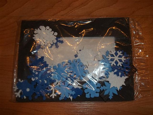 Foam Snowflake Picture frame *NEW