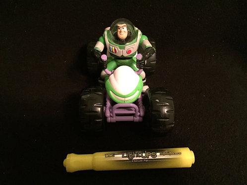 Buzz Lightyear Car Toy Story Pull Back Atv