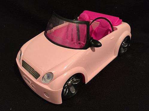 Pink Barbie Convertible