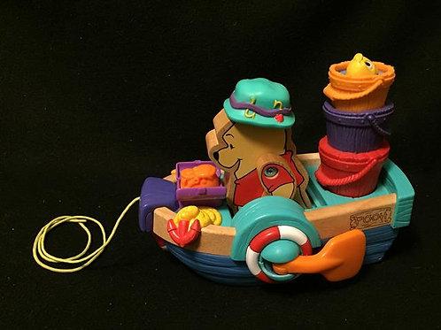 Disney Sing 'n Row Pull Toy