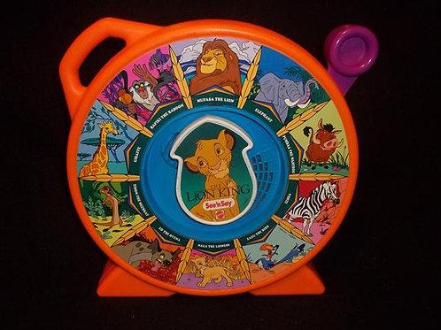 "Mattel ""Disney's"" Lion King See 'N Say *VINTAGE"