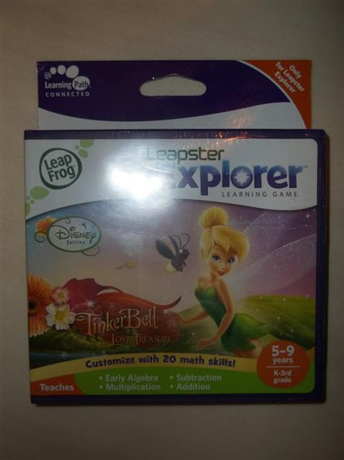 Leapfrog Leapster Explorer Tinker Bell *NEW