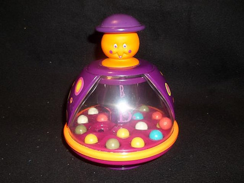 B Poppitoppy Colorful Balls Spinning Top Toy
