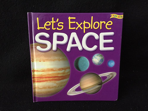 Let's Explore Space (Fun Kits) Hardcover