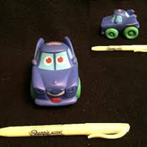 Playskool Wheel Pals - Blue Car