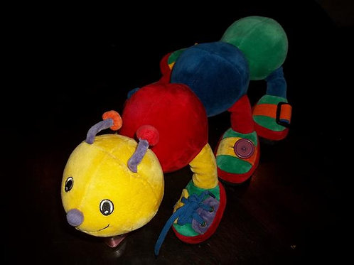 Handmade Aurora Plush Learning Caterpillar