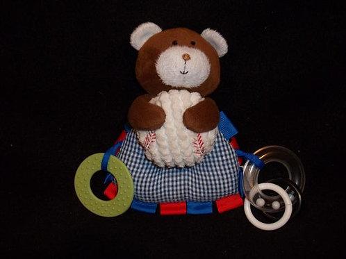 Bear Baseball Activity toy for infants