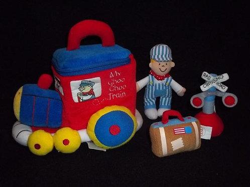 My Choo Choo Train Playset by Baby Gund